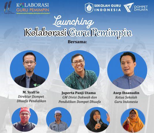 Launching Kolaborasi Guru Pemimpin